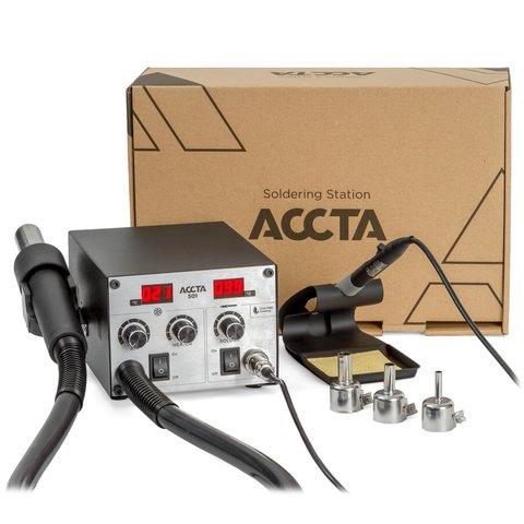Термоповітряна паяльна станція Accta 501 Прев'ю 2