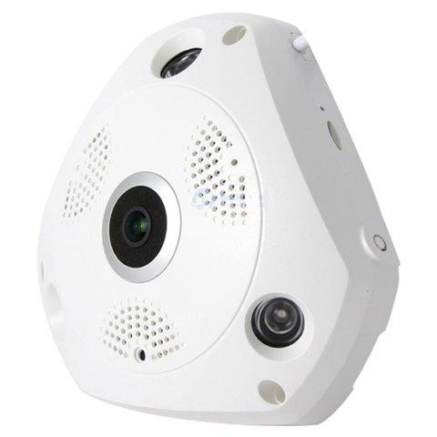 Безпровідна IP-камера спостереження MWCVR01 (960p, 1.3 МП, риб'яче око) Прев'ю 1