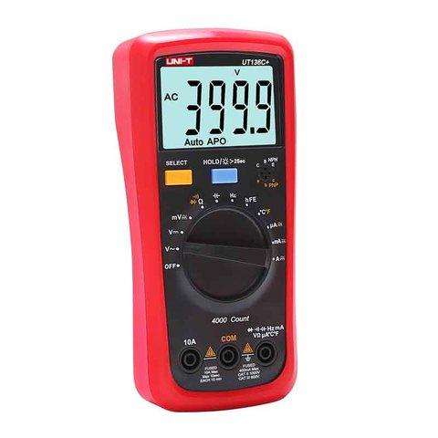 Цифровий мультиметр UNI-T UTM 1136C+ (UT136C+) Прев'ю 1