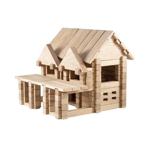 IGROTECO House with Balcony Building Set