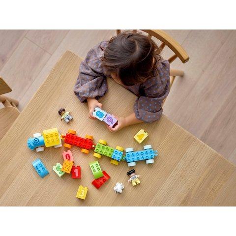 Конструктор LEGO DUPLO Потяг із цифрами – вчимося рахувати 10954 Прев'ю 7