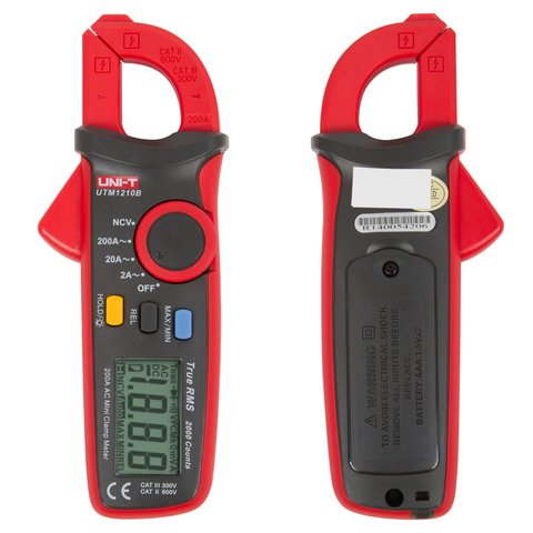 Digital Clamp Meter UNI-T UT210B Preview 1